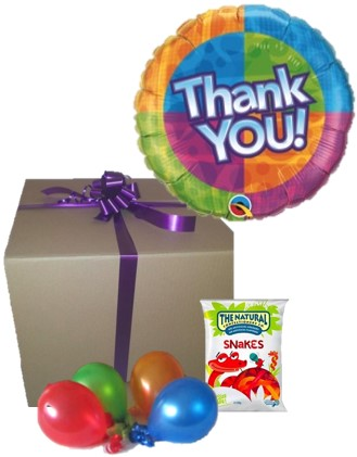 Balloon In A Box Thank You Gift