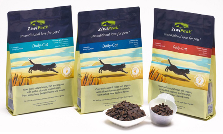 ZiwiPeak air-dried meat for cats