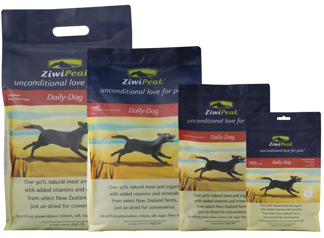 ZiwiPeak Air-dried Venison dog food