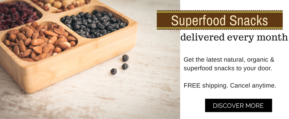 superfood snack box subscription