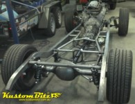34 Chevrolet Hot Rod chassis by Kustom Bitz