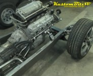 1934 Chevy repoduction hot rod chassis