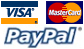 We except paymnet with VISA, Mastercard & Paypal