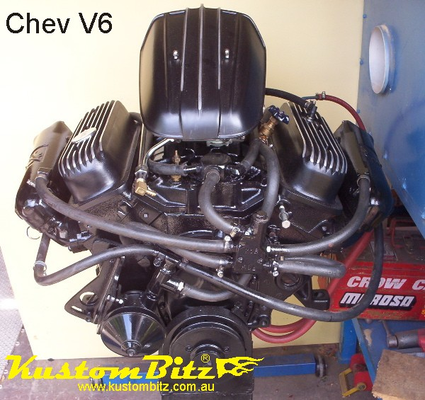 Chevy V6 Finned Valve Covers