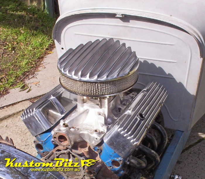Cool Hot Rod Air Cleaners : Inch diameter air cleaners for barrel carbs kustom