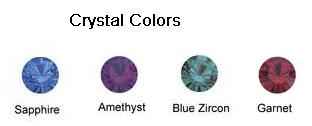 Crystal colours