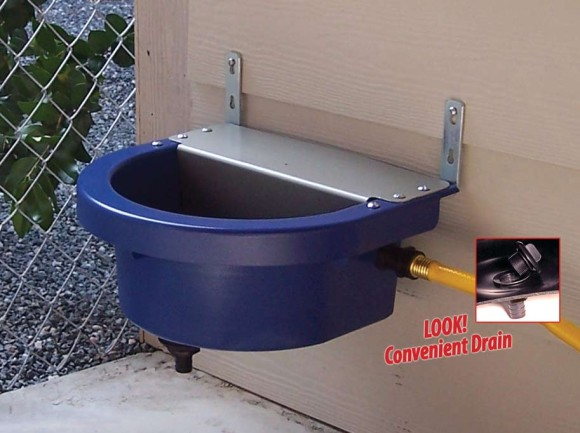 Automatic Pet Waterers 4 Sizes Easily Hooked Up To A
