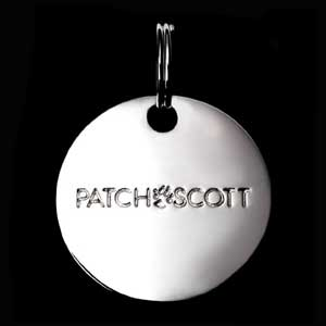 Patch and Scott Pet tag