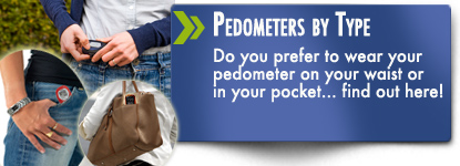 Pendulum pedometers or accelerometer pedometers - waist or pocket find out here