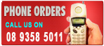 We take phone orders