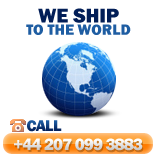 We ship to the world