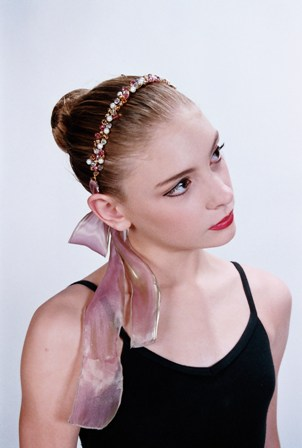 Crystal and Pearl Flexi Wire Headband