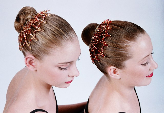 Dance Headpiece Bun Buddy Web