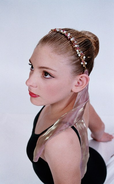 Flexi Wire Crystal and Pearl Headband