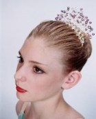 Dance Tiara Headpiece Pearl Garden