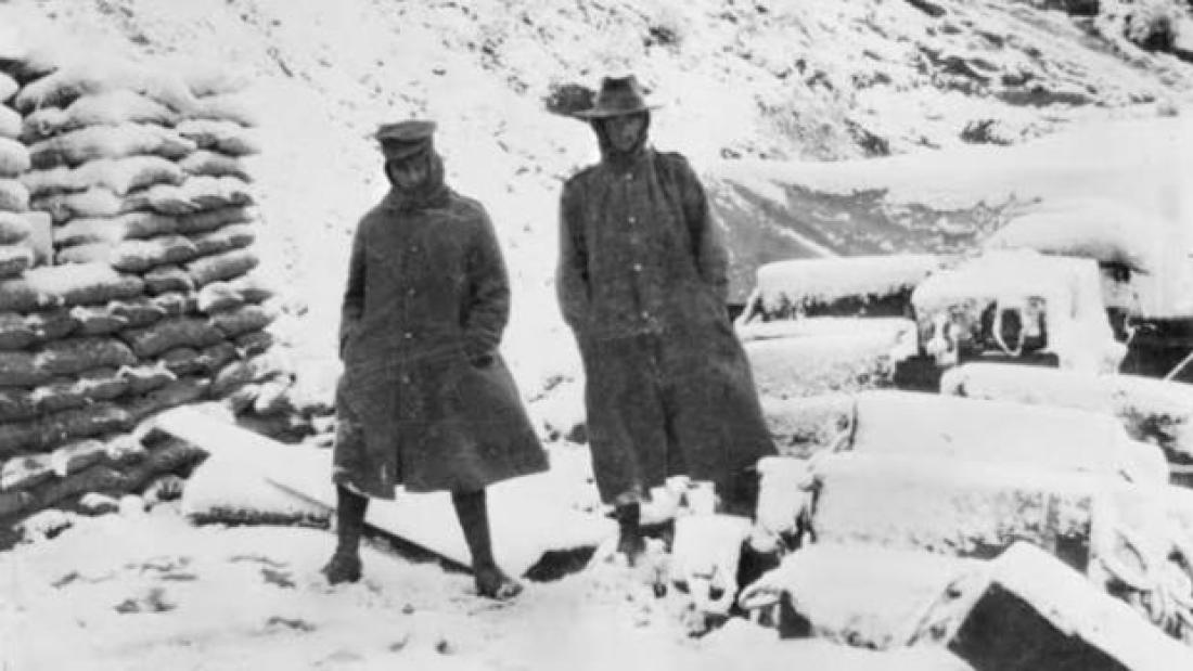 Winter at  Gallipoli 1915