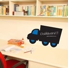 Chalk Truck Wall Decal