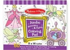 Jumbo Colouring Pad Princess & Fairy