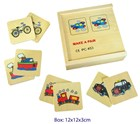 Wooden Memory Game - 16 Piece