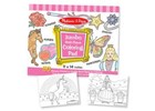 Jumbo Colouring Pad Pink