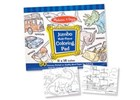 Jumbo Colouring Pad Blue