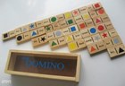 Wooden Colour Dominos