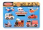 Vehicles Sound Puzzle 8 Piece