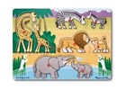 Safari Peg Puzzle 8pc