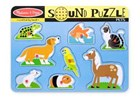 Pets Sound Puzzle 8 Piece 