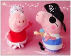 Ballet Peppa Pig & Pirate George Set