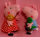 Large Peppa Pig & Large George Set