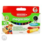 Megacolor Markers 10 Piece Set