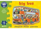 Big Bus Shaped Floor Puzzle
