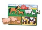 Farm Peg Puzzle 8pc  