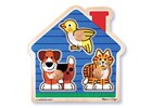 House Pets Jumbo Knob Puzzle 3pc