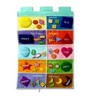 Colours & Shapes Hanging Wall Chart