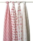 Princess Posie Swaddle 4 Pack