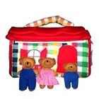 Bear House Soft Toy