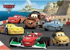 """Disney Cars 2 """"Running With Pack"""" Ravensburger 60 Piece Jigsaw Floor Puzzle"""