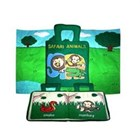 Safari Cloth Book with Playmat