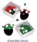 Wooden Musical Castanets - Frog or Beetle