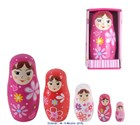 Baboushka Nesting Dolls - 5 piece