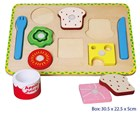 Lunch in Box - Puzzle with Velcro
