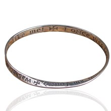 Inspirational Mobius Bangle