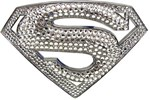 Swarovski Crystal Superman Returns Belt Buckle