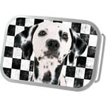 Checkered Dalmatian Dog Belt Buckle