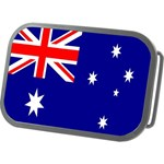 Australia Flag Belt Buckle
