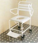 Commode mobile shower B1020