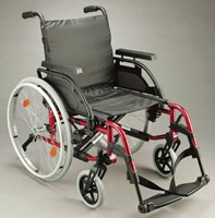 Wheelchair lightweight breezy basix 817