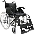 Wheelchair lightweight folding care quip 515 Concorde ex